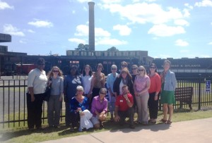 GSS Savannah Exec Committee at Railroad Museum